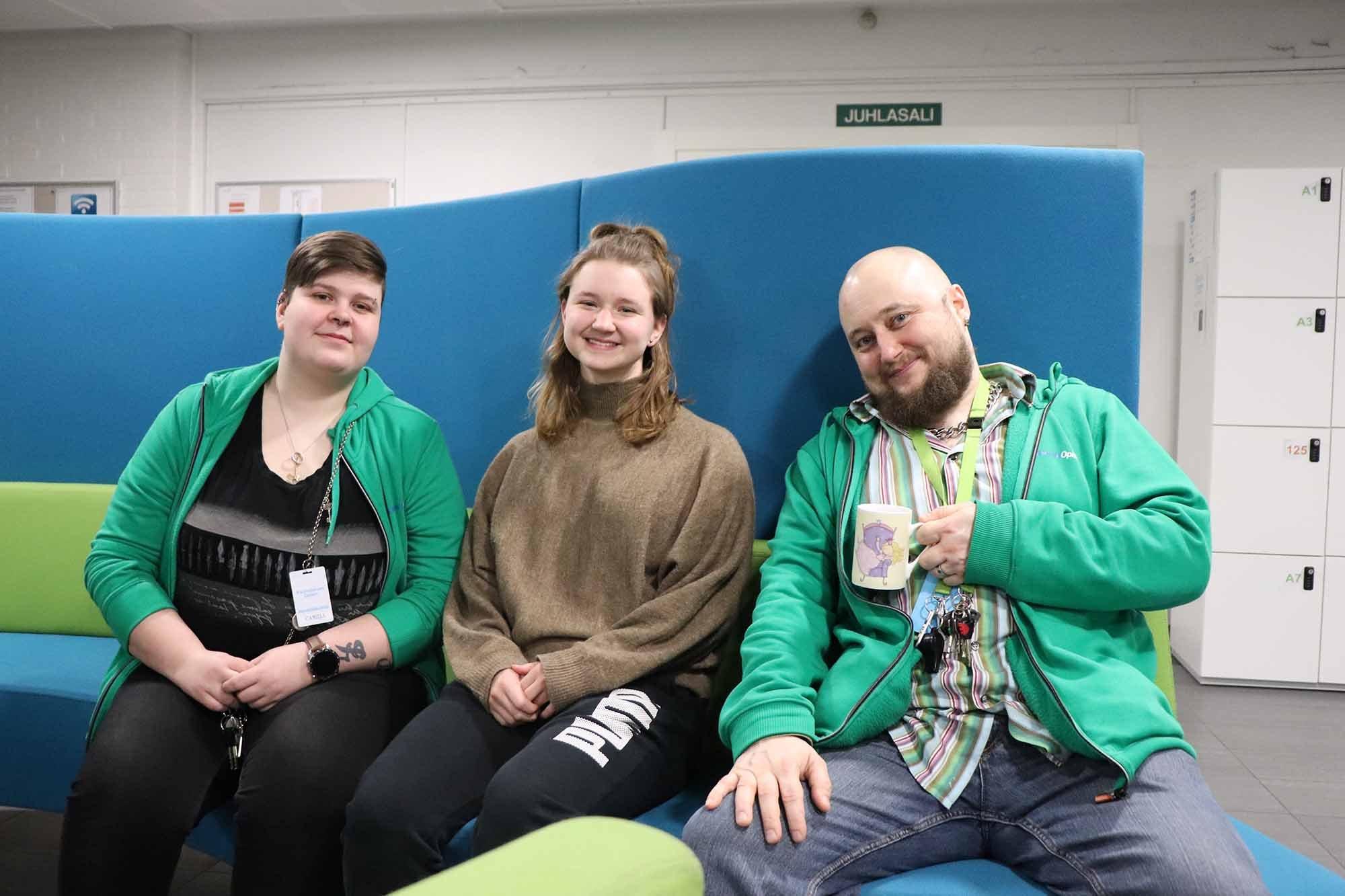 Camilla, Anni-Riina ja Lauri
