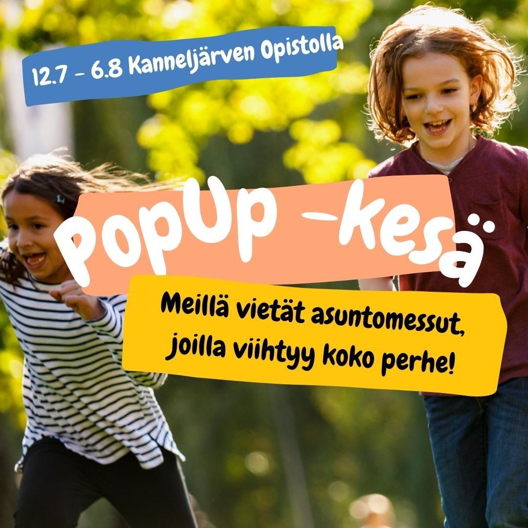 PopUp -kesä some